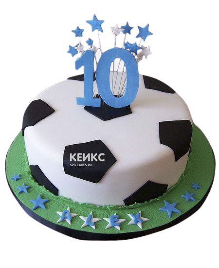 Торт на 10 лет мальчику 4