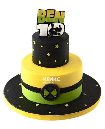 Торт на 10 лет мальчику 7