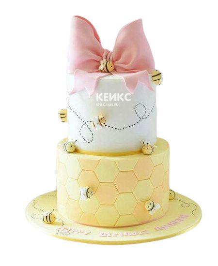 Торт на 9 лет девочке 3