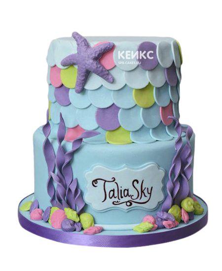 Торт на 9 лет девочке 4