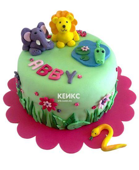 Торт на 2 года девочке 51