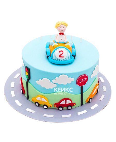 Торт на 2 года мальчику 23