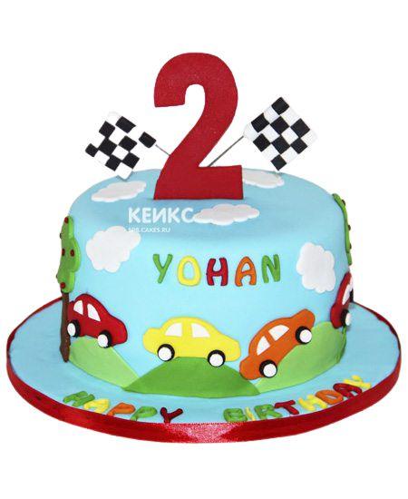 Торт на 2 года мальчику 32