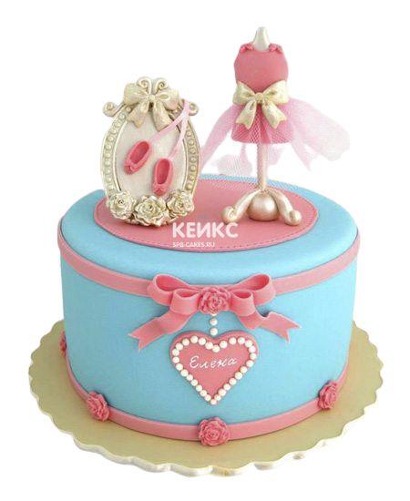 Торт на 12 лет девочке 1