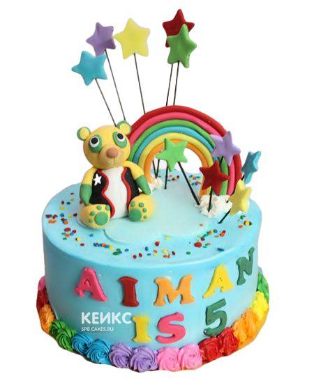 Торт на 5 лет мальчику 15