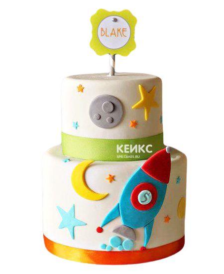 Торт на 5 лет мальчику 2