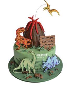 Торт на 5 лет мальчику 5