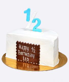 Торт на полгода для мальчика
