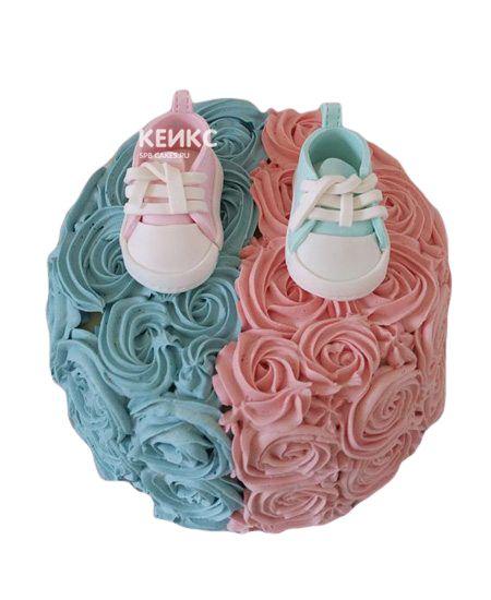 Торт на рождение Мальчик или Девочка 7