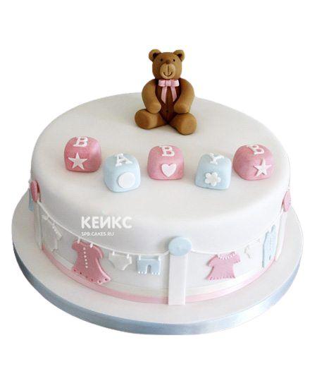 Торт на рождение Мальчик или Девочка 8