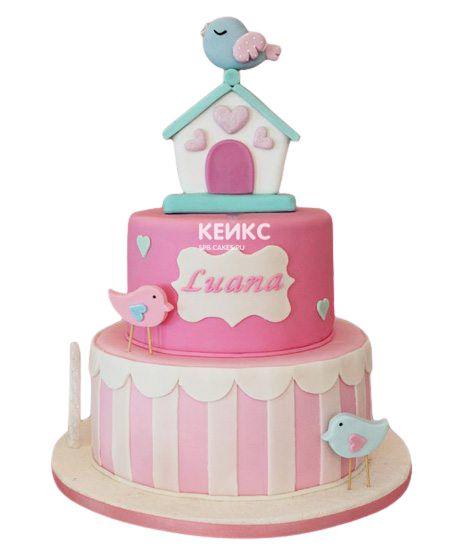 Торт на 7 лет девочке 2