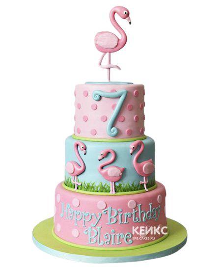 Торт на 7 лет девочке 7