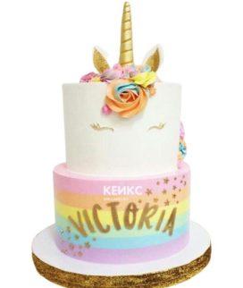 Торт на 7 лет девочке 8