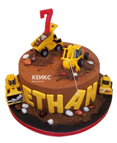 Торт на 7 лет мальчику