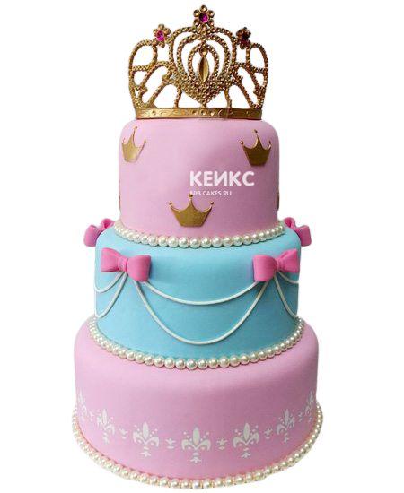 Торт на 3 года девочке 4
