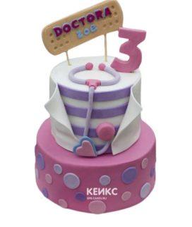 Торт на 3 года девочке 6