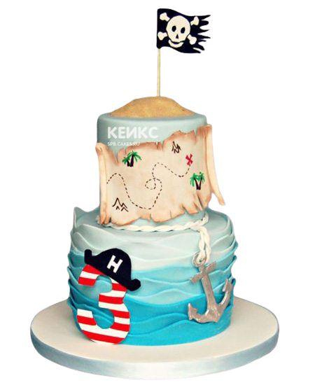 Торт на 3 года мальчику 11