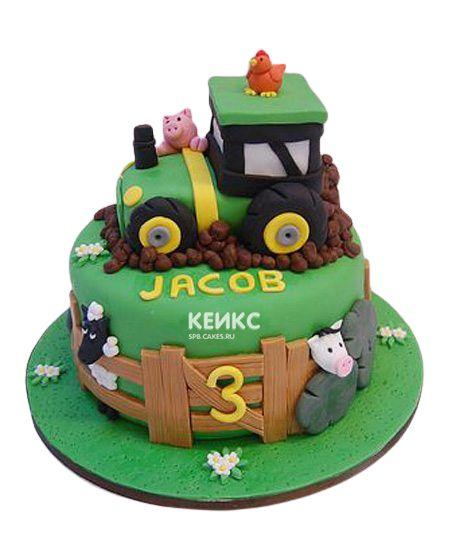 Торт на 3 года мальчику 13