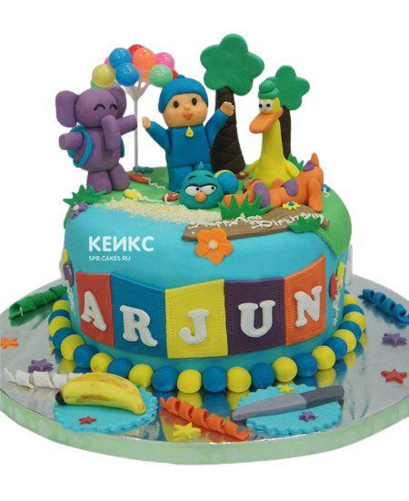 Торт на 3 года мальчику 16