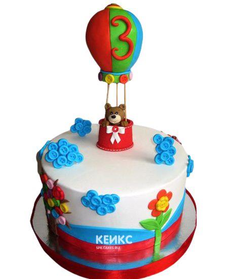 Торт на 3 года мальчику 18
