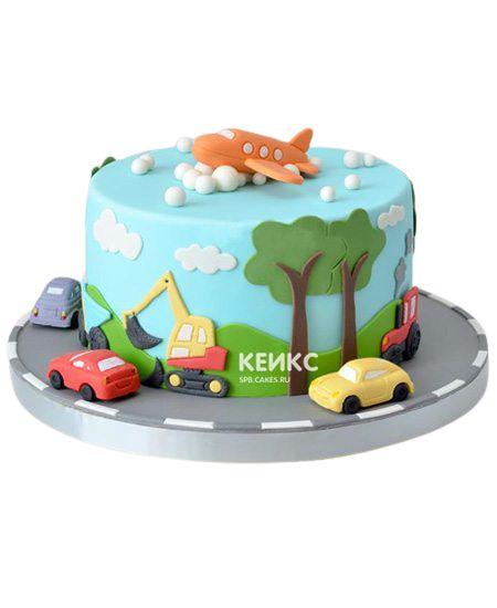 Торт на 3 года мальчику 19