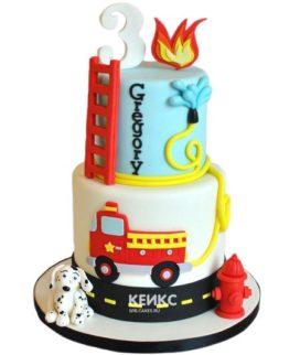 Торт на 3 года мальчику 2