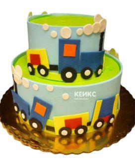 Торт на 3 года мальчику 21