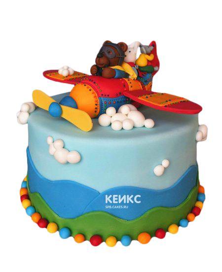 Торт на 3 года мальчику 3