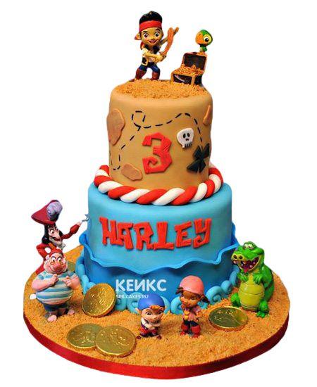 Торт на 3 года мальчику 6
