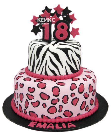 Торт на 13 лет девочке 3