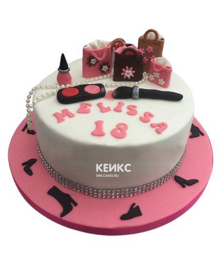 Торт на 13 лет девочке 6