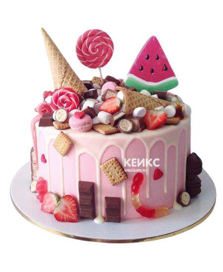 Торт на 13 лет девочке