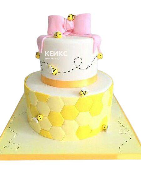 Торт на 8 лет девочке 3