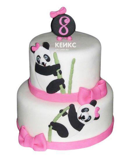 Торт на 8 лет девочке 4