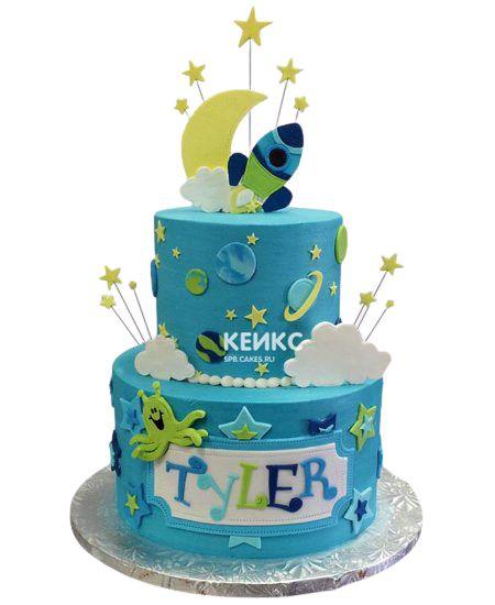Торт на 8 лет мальчику 3