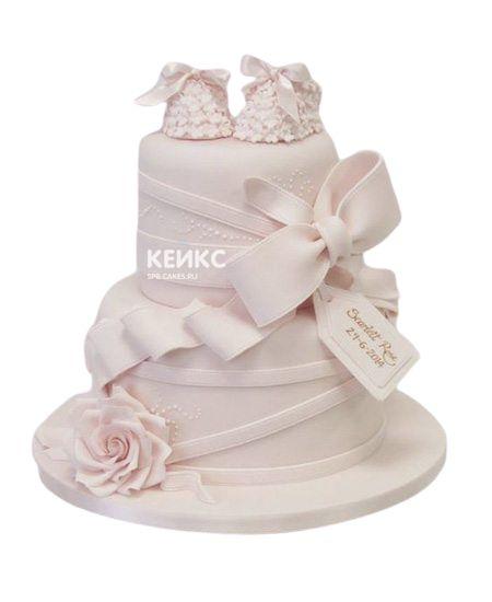 Торт на выписку для девочки 1