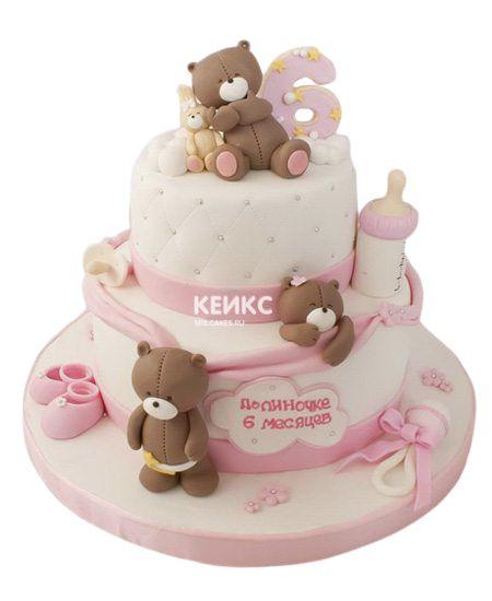 Торт на выписку для девочки 12