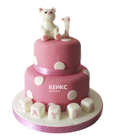 Торт на выписку для девочки 4