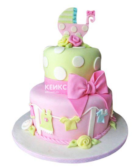 Торт на выписку для девочки 5