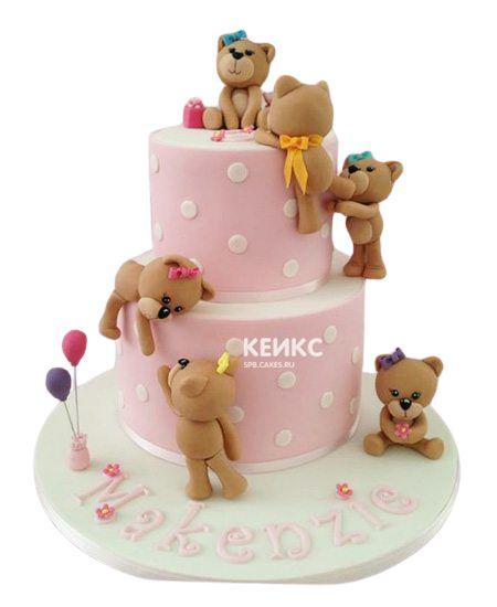 Торт на выписку для девочки 6