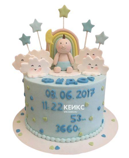 Торт на выписку для мальчика 6