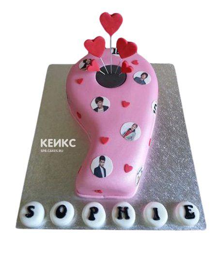 Торт с цифрой 9 для девочки