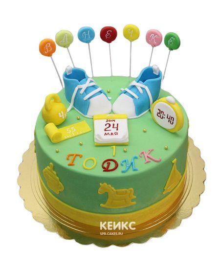 Торт с Метрикой 15
