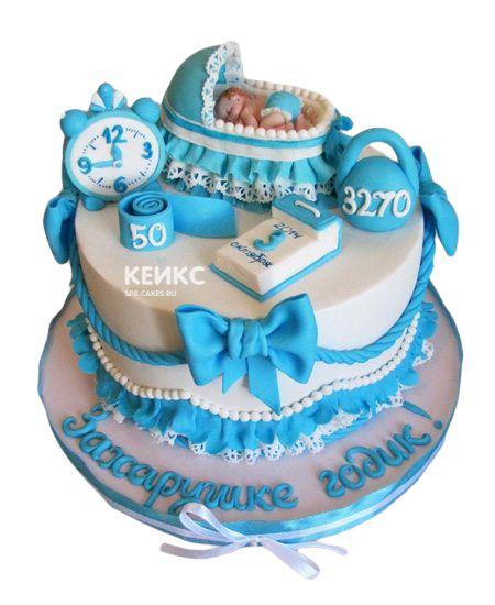 Торт с Метрикой 3