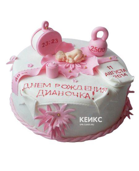 Торт с Метрикой 4