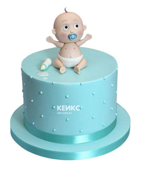 Торт с младенцем 12