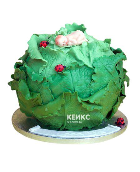 Торт с младенцем 2