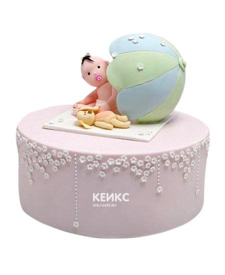 Торт с младенцем 4