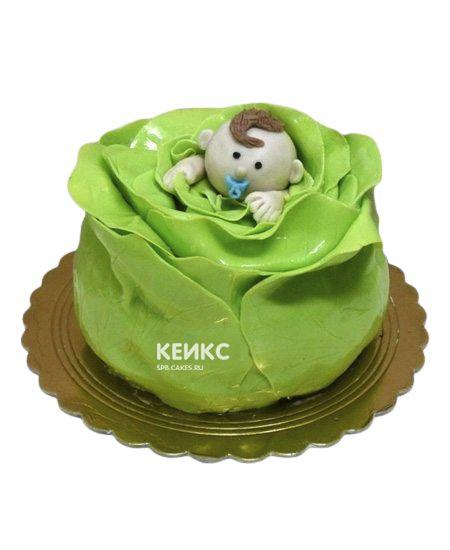 Торт с младенцем 7