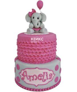 Эксклюзивный Детский торт для Девочки 1